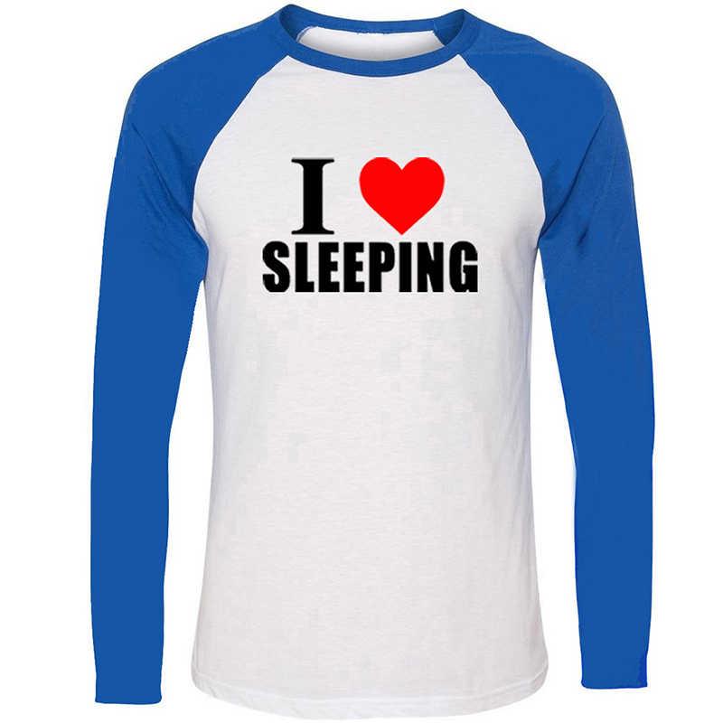 Roger Federer directo a los Fans de la teoría del Big Bang me encanta dormir diseño hombres chicos impresión gráfica Tee de manga larga de algodón