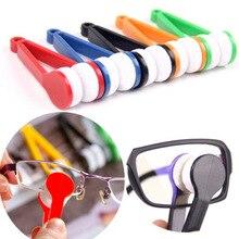 Удобные очки инструменты для очистки F случайный цвет супер тонкие волокна очки Очиститель тереть мощность с объективом одежда очиститель