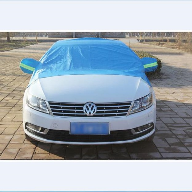 portable lint thickening car hood blue sun shade winter car snow shield cover auto front. Black Bedroom Furniture Sets. Home Design Ideas
