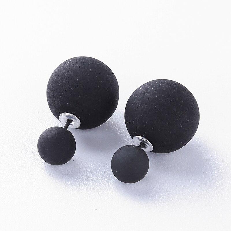 2021 New Fashion Sweet Acrylic Earrings for Women Minimalism Square Earrings Bohemian Stud earring for Woman Christmas Jewelry Stud Earrings  - AliExpress