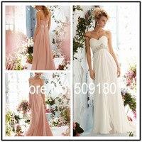 Elegant High Quality Sweetheart Floor Length Custom Made Girls Long Party Dress Design BD81806 Girls Bridesmaid