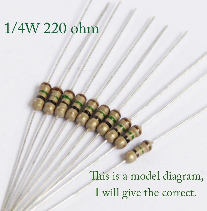 560 Ohm 1//2 W resistencias de película de carbono X 100 piezas