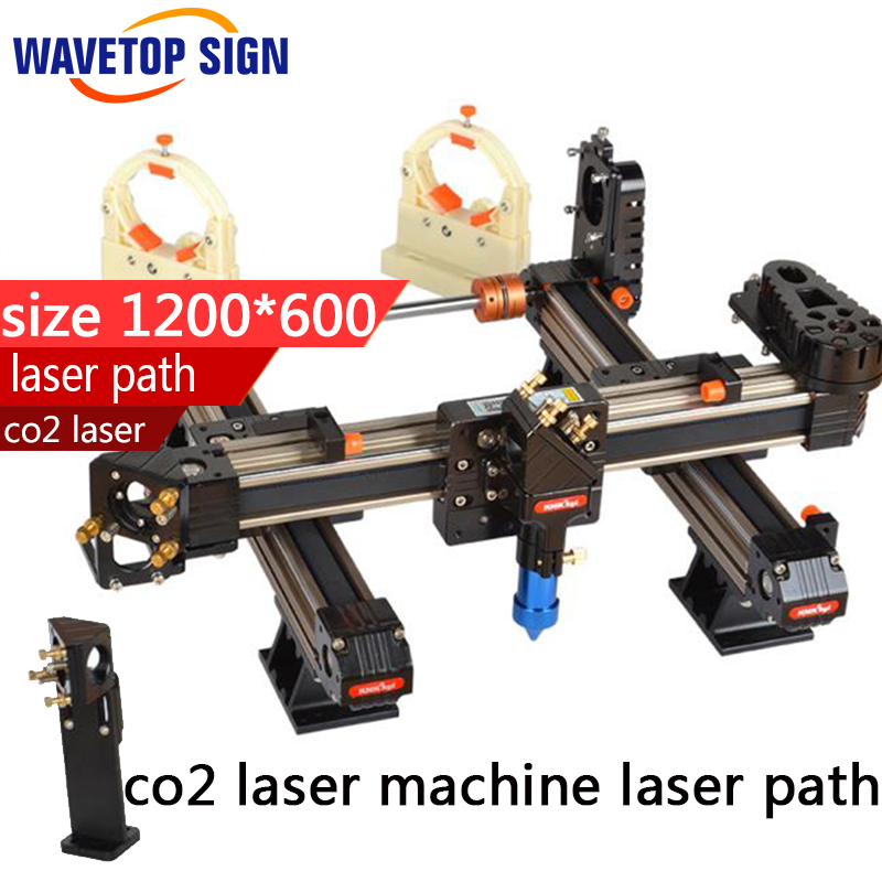 co2 laser  machine laser path  size 1200*600mm  1200*800mm co e