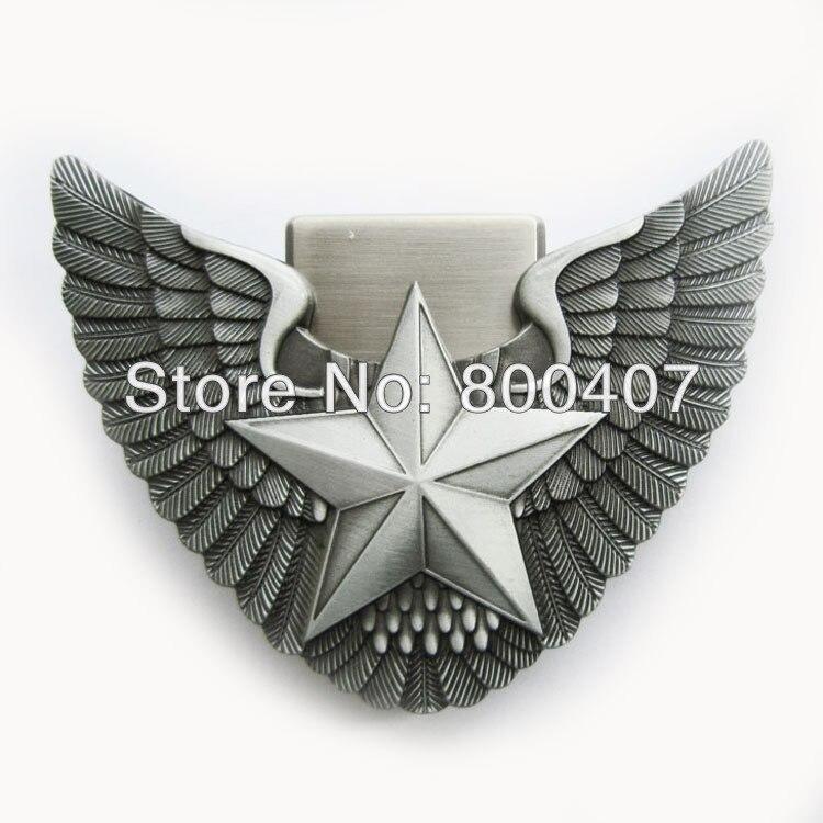 f0398a2408b7 Distribuer détail Ceinture Boucle (Ange Ailes Étoile Léger) BUCKLE-LT012  Livraison Gratuite de la boutique en ligne   Aliexpress mobile