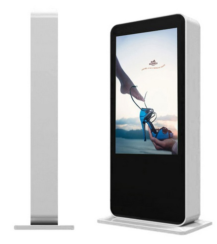 55'' 65'' 70'' 82 Inch Large Double Side Multi Touch Totem Wifi Advertising Dual LCD Digital CCTV Monitor Display