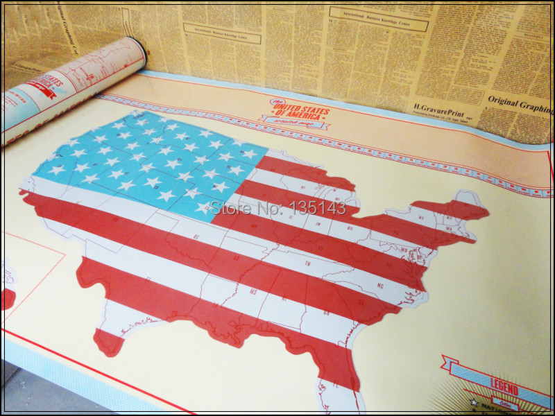 Aliexpress Buy SCRATCH OFF MAP Personalized US Map Poster – Personal Travel Map