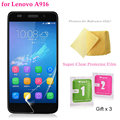 "5pcs/lot Super Clear Screen Protector Film for Lenovo A916 / 5.5"" Premium Screen Guard Cover Protect for A 916"