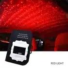 ZJRIGHT auto dinamico top flusso di luce usb colorful luce della stella rosso blu colorato di verde starlight sul tetto