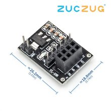 NRF24L01 Wireless adapter module New Socket Adapter plate Board for Arduino(China)