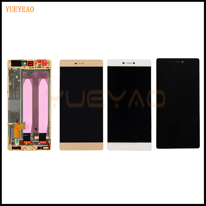 YUEYAO LCD Display + Digitizer Touch Screen Glass Assembly For Huawei Ascend P8 Phone 5.2 inch LCD with Frame yueyao lcd display digitizer touch screen assembly for huawei ascend p7 p7 l10 p7 l00 p7 l05 lcd screen aseembly