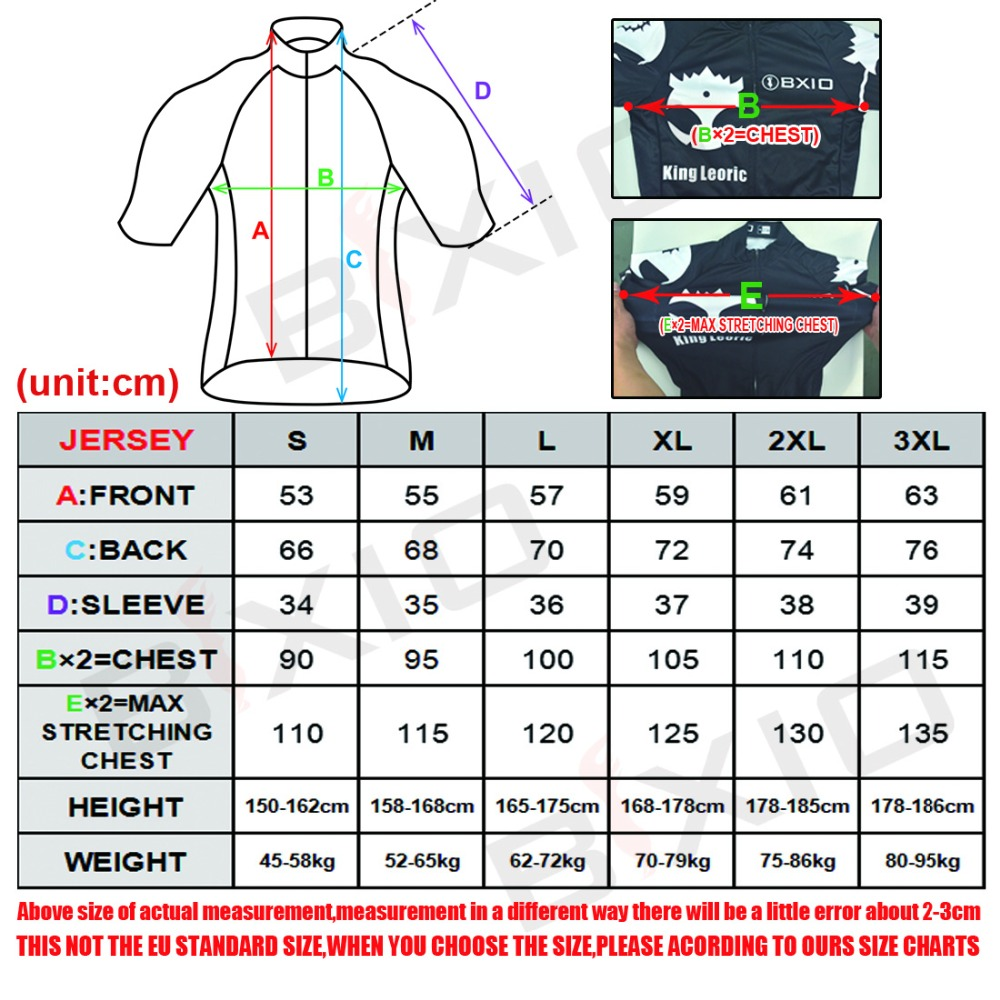 Bxio Cool Leopard Cycling Jersey Shirt Mountain Bike Clothing Summer Cool  Sportswear Short Sleeve For Man BX 0209W034 J-in Cycling Jerseys from  Sports ... fb86ab2d6