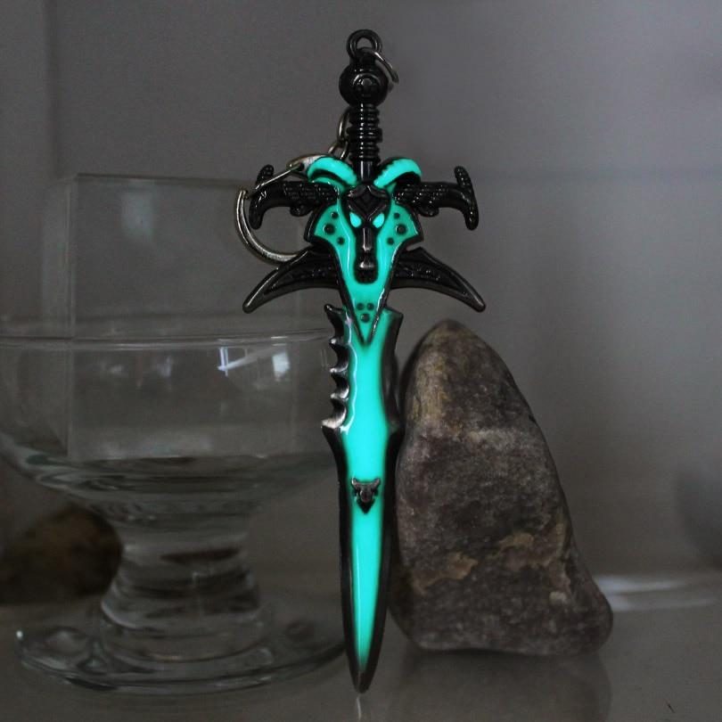 Glowing Frostmourne keychain The death knight arthas SWORD