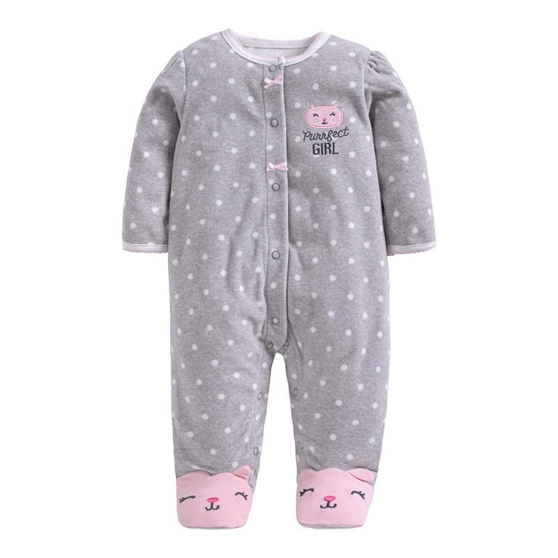Marka Wiosna Jesień Animal Baby Clothes Baby Romper Odzież polarowa Odzież niemowlęca One Piece Romper Baby Products