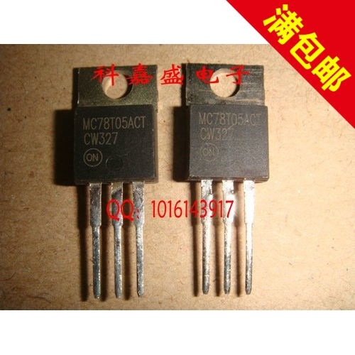 MC78T05ACT 78 t05 TO220 pins new original spot sale to ensure quality--XLWD2