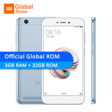 Global ROM Xiaomi Redmi 5A 5 A 3GB RAM 32GB ROM Mobile Phone Snapdragon 425 Quad Core 5.0″ 13.0MP 4G LTE 3000mAh MIUI 9