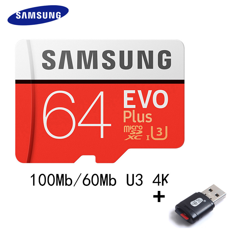 SAMSUNG Microsd Card 256g 128 gb 64 gb 32 gb 16 gb 8 gb 100 mb/s Class10 U3 U1 micro Sd-kaart Geheugenkaart TF Flash Card