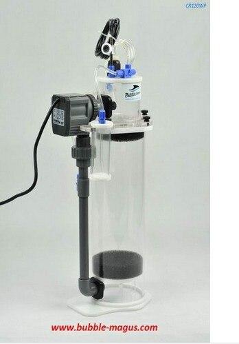 Le réservoir de corail d'eau de mer de CR 120WP de Magus CR120WP de bulle de 20 W ajoute le réacteur de calcium et de magnésium. Dispositif de filtre de réservoir de poissons-in Filtres et accessoires from Maison & Animalerie    1