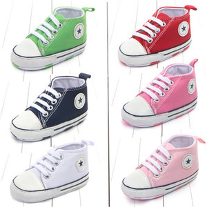 New Canvas Classic Sports Sneakers Newborn Baby Bo ...