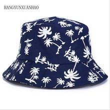 HANGYUNXUANHAO Women Men Vogue Beach Cap caps Maple leaves Brooklyn Bucket Hat Fisherman Summer leisure Panama Hats