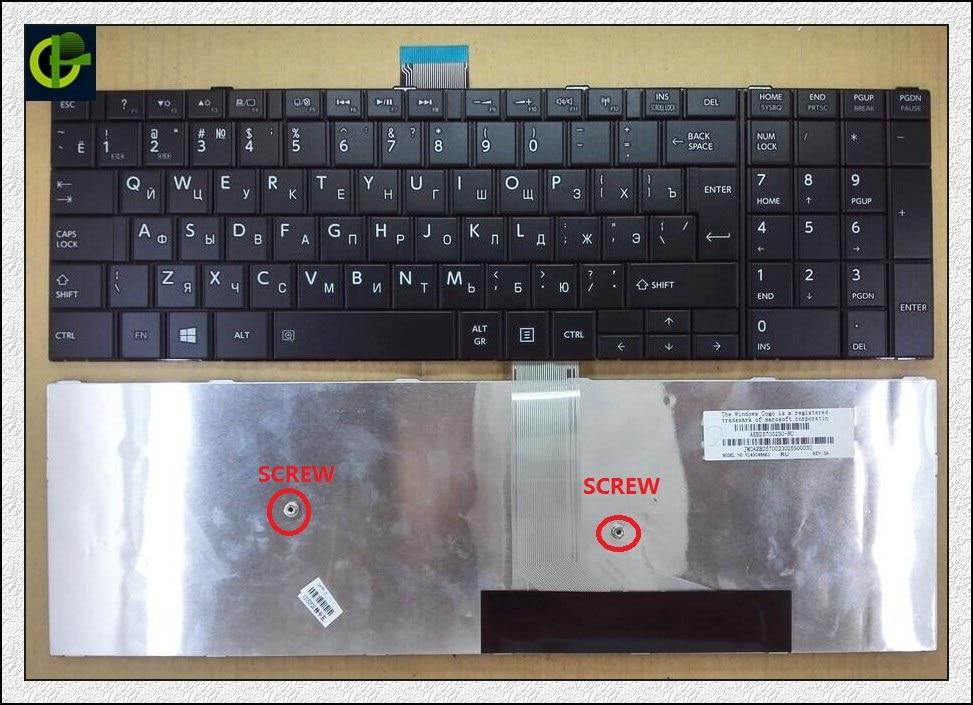 Russian RU Keyboard for TOSHIBA L70-A L70D L75 L75D S70 S70D S70D-A S70-A S70T S75 S75-A S75D S75T black same as photo