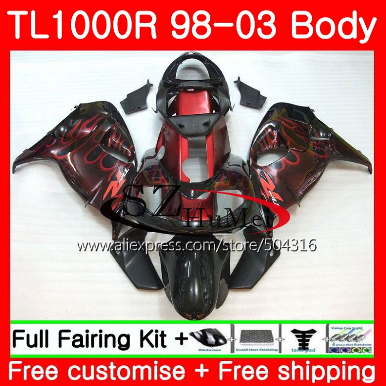 Motorcycle Accessories & Parts Body For Suzuki Red Flames Tl1000 R Tl 1000 R Tl1000r 98 99 00 01 02 03 41sh16 Tl 1000r 1998 1999 2000 2001 2002 2003 Fairings To Win A High Admiration And Is Widely Trusted At Home And Abroad.