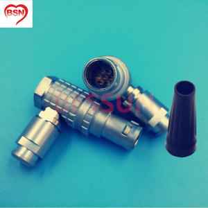 LEMO FHG.1B. 307. Одетый, 90 градусов локоть разъем совместимый разъем, камера ALEXA мини разъем 7 контактный разъем