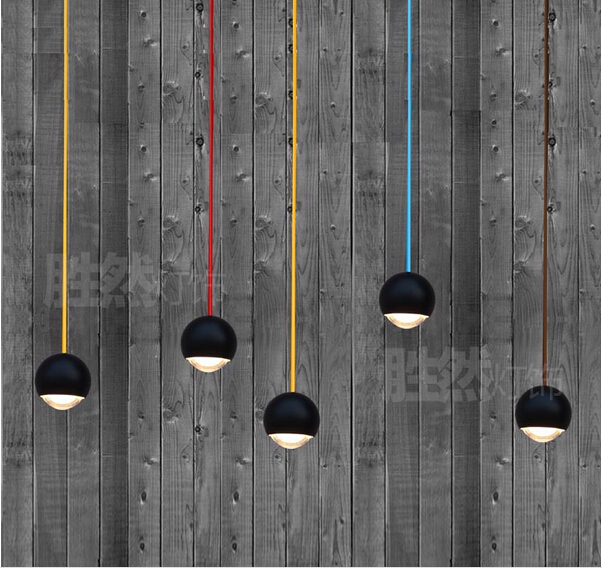 black aluminum crystal ball pendant light loft novel led 5w pendant lamp for parlor dining roon hotel 8*12cm AC96-265V 1814 egypt imported crystal 8 light pendant lights in ball shape chrome pl1040