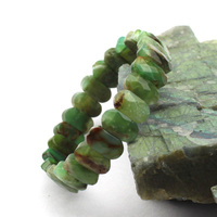 Natural Chrysoprase Stone Bracelet Natural Australian Jades Braclet DIY Jewelry Bracelet For Woman Free Shipping Wholesale
