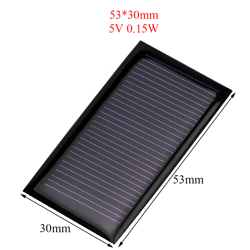 Mini 0.15W 5V Solar Panel Power Panel System DIY Battery Cell Charger Module Portable Panneau Solaire Energy Board