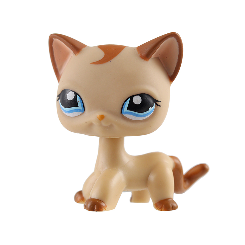 Toys & Hobbies Independent Lps Animal Model Toys Standing Short Hair Cat Real Rare Egyptian Grey Blue Eyes Animal Kids Gifts Exquisite Craftsmanship;