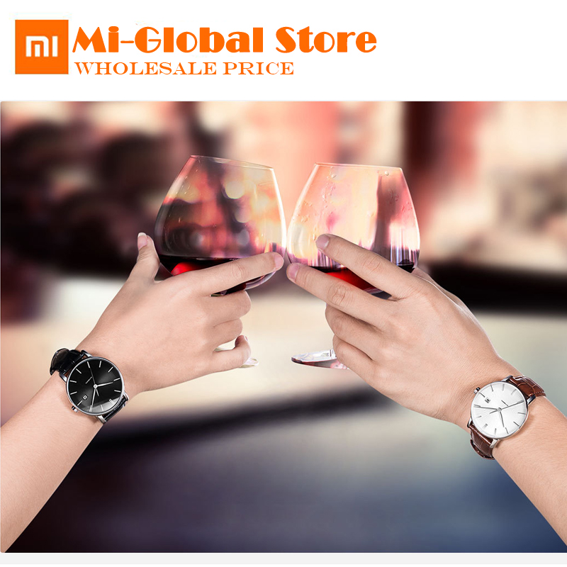 Original Xiaomi TwentySeventeen Light Mechanical Watch With Sapphire Surface Leather Strap Fully automatic mechanical movement цена