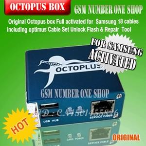 Image 2 - 100% Original nouvelle boîte de poulpe pour Samsung imei réparation et déverrouillage avec 18 câbles