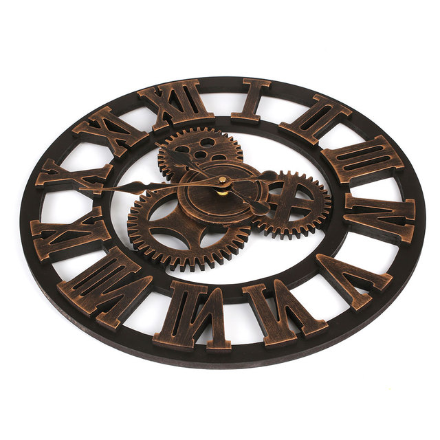 European Silent Modern Design Decorative Hanging Wall Clock Watches Decor