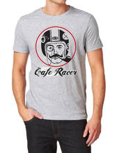 94cd2f05 CAFE RACER LOGO FRUIT OF THE LOOM T-SHIR S-XXL customized your own design  funny shirt