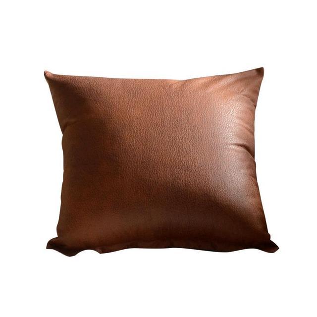 Fodere per Cuscini Decorativo Coperture per Cuscini Imitazione Sedile In Pelle A