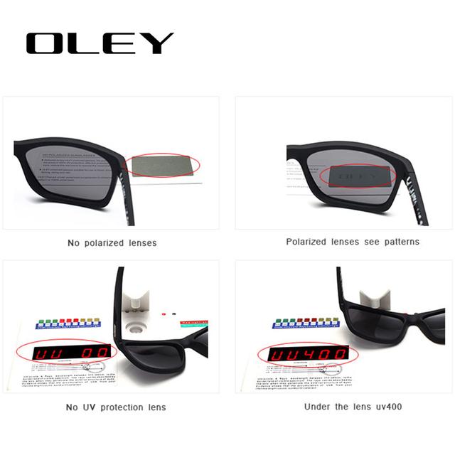 OLEY HD Classic TR90 7-in-1 YG203