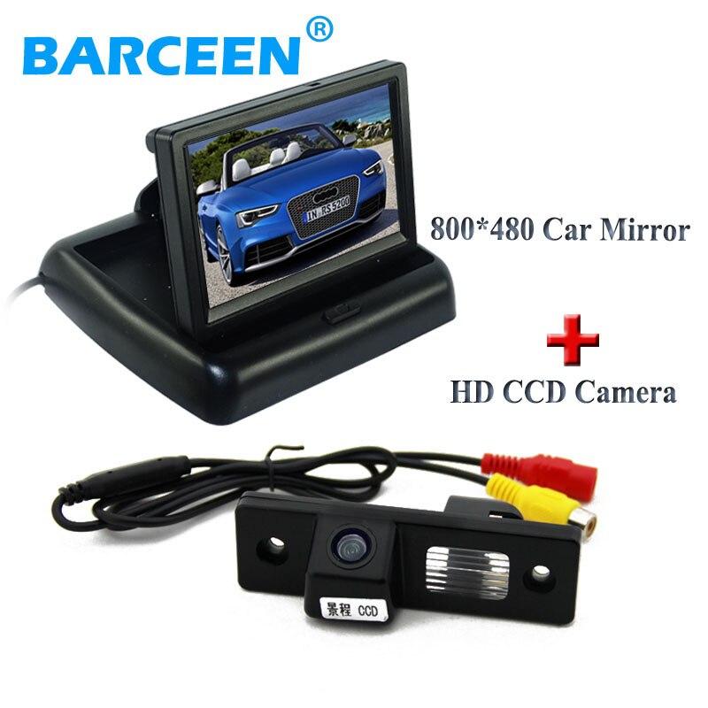 Night vision car back up camera black shell +universal car monitor fit for CHEVROLET EPICA/LOVA/AVEO/CAPTIVA/CRUZE/LACETTI