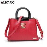 Alicyue marchio di moda e del tutto-fiammifero delle donne borse a spalla 2017 vendita calda coreana borsa versatile messenger borse lady bag b231 30