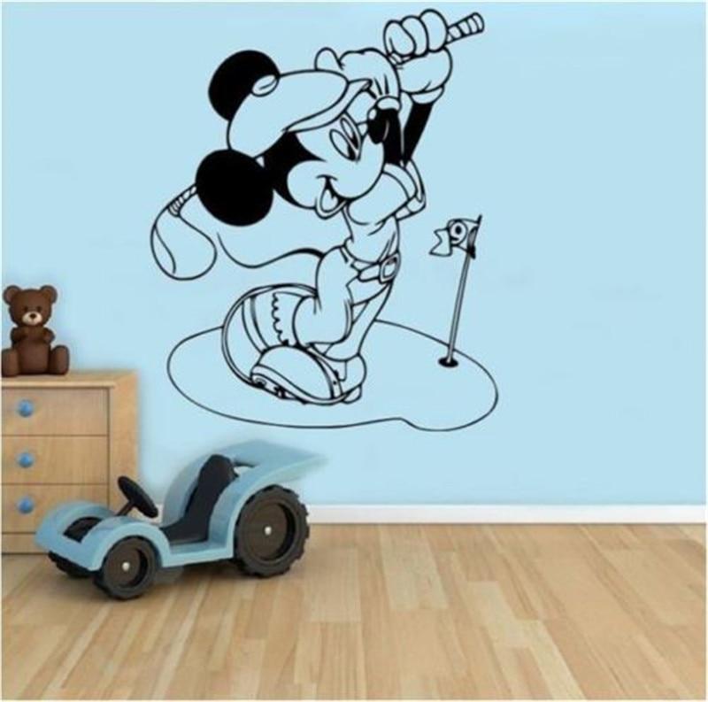 Mickey vinyl wall sticker home decor wall stickers