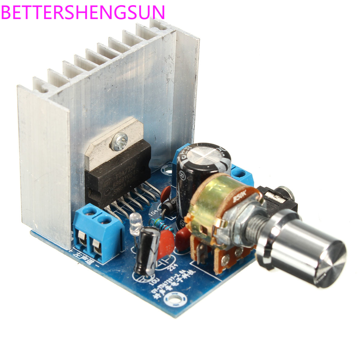 Fever TDA7297 Dual Channel Amplifier Board Noise-free AC/DC 12V Motorcycle Amplifier Board