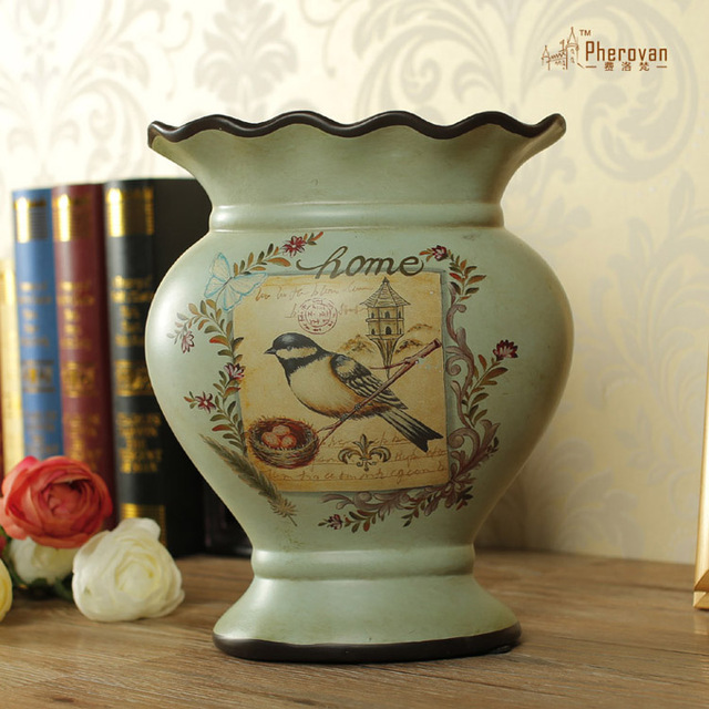 American Country Home Decoration Vases High End Ceramic Vases