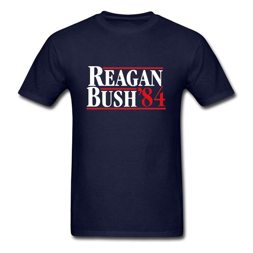 Aliexpress.com : Buy Men Cool T Shirts Reagan Bush 84 Graphic Tee ...