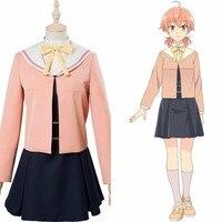 Anime Bloom Into You Yuu Koito Cosplay Costume Girls School Uniform Dress Halloween Party Academy Costume Customizable