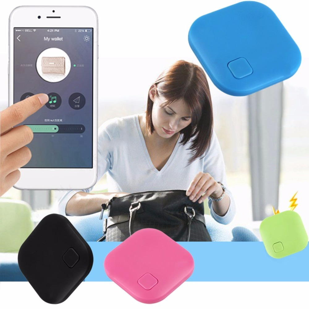Smart Tag Wireless Bluetooth 4.0 Tracker Wallet Key Keychain Finder GPS Locator Anti Lost Alarm System 1 pcs wireless audio signal scanner anti camera personal security hidden finder gps tracker device 2g 3g 4g bug finder ra