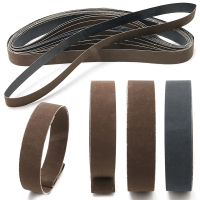 Mayitr 15Pcs Sanding Belt High Grit 600 800 1000 Grit Sharpening Polishing Belt For Belt Sander
