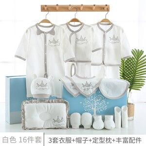 Image 3 - 17 teile/satz Neugeborenen Baby Kleidung Set 0 3M Baby Kleidung Günstige Baby Junge/Mädchen Kleidung 100% Baumwolle hohe qualität Cartoon Kinder Tragen