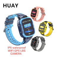 new Kids GPS Tracker smart watch IP67 waterproof camera WIFI GPS LBS SOS Call location Mechanical appearance children watch TD26