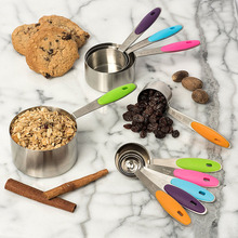 Professional Stainless Steel Measuring Cups and Spoons Set
