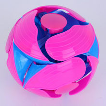 Kids Indoor Outdoor Sports Plastic Training Transformation Magic Ball Educational Toys for Children Outdoor Games Changed Ball(China)
