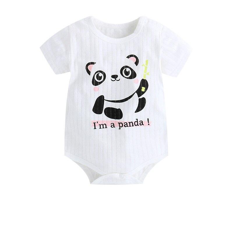 HTB1VIbOazDuK1Rjy1zjq6zraFXa6 New Summer Baby Boys Romper Animal style Short Sleeve infant rompers Jumpsuit cotton Baby Rompers Newborn Clothes Kids clothing